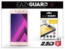 Samsung A320F Galaxy A3 (2017) gyémántüveg képernyővédő fólia - Diamond Glass 2.5D Fullcover - rose gold