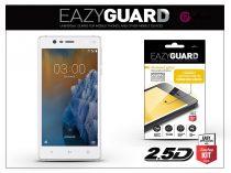 Nokia 3 gyémántüveg képernyővédő fólia - Diamond Glass 2.5D Fullcover - fehér
