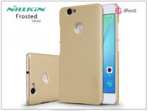 Huawei Nova hátlap képernyővédő fóliával - Nillkin Frosted Shield - gold