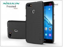 Huawei P9 Lite Mini hátlap képernyővédő fóliával - Nillkin Frosted Shield - fekete