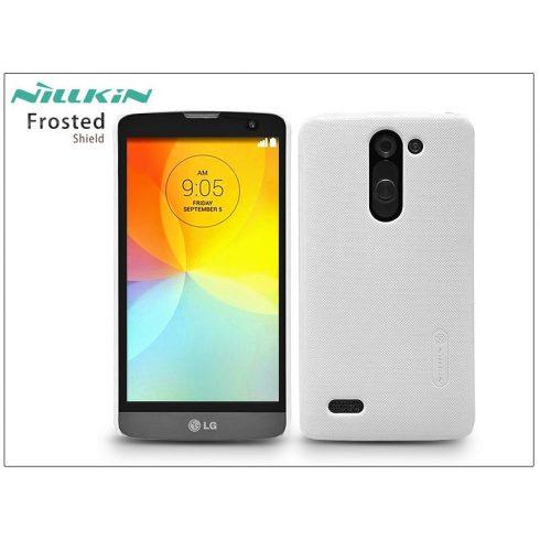 LG D331/335 L Bello hátlap képernyővédő fóliával - Nillkin Frosted Shield - fehér