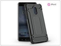 Nokia 6 ütésálló hátlap - Armor - fekete