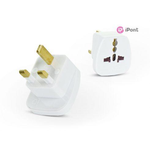 EU - UK adapter hálózati töltőhöz - QZ36-9 - fehér