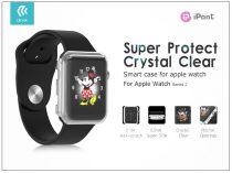 Apple Watch Series 2 védőtok - Devia Smart Case 38 mm - clear