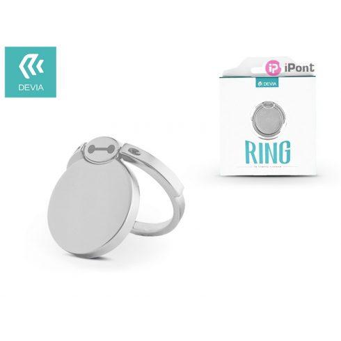 Devia ring holder/szelfi gyűrű és kitámasztó - Devia Finger Hold Bmax - silver